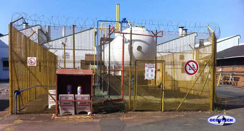 Occutech Major Hazard Risk Assessments Bulk gas storage Durban KZN South Africa